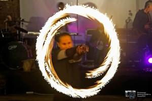 Детское огненное шоу