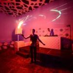 Fire-show на вечеринке «Мама я в Дубае» в клубе Indigo