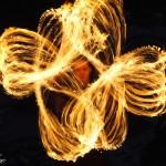 Фотосет с огнем
